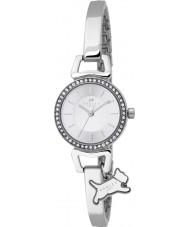 Radley RY4071 Damen Stein gemeißelt Hälfte Silber Stahl Armbanduhr