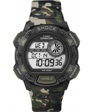 Timex T49976 Mens camo Expedition Base Schock Chronograph