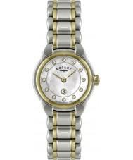Rotary LB02602-41L Damen Uhren mit zwei Tönen Uhr