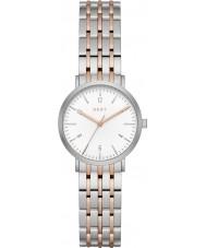 DKNY NY2512 Damen Minetta zwei Ton Stahl-Armbanduhr