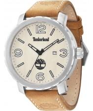 Timberland 14399XS-07 Mens pinkerton tan Lederband Uhr