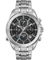 Bulova 96B260 Herren Precisionist Silber Stahlarmband Chronograph