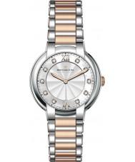 Dreyfuss and Co DLB00062-D-01 Damen 1974 Diamanten besetzt mit zwei Tönen Uhr