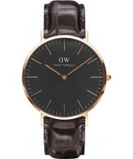Daniel Wellington DW00100128 Klassisches Schwarz york 40mm Uhr