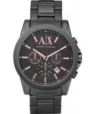 Armani Exchange AX2086 Herren grau ip Chronograph Weisekleiduhr