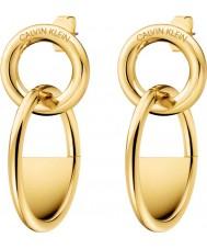 Calvin Klein KJ8GJE100100 Damen verschlossene Ohrringe