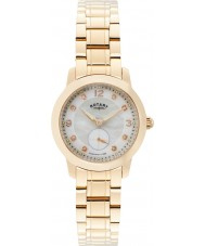 Rotary LB02702-41 Damen Uhren cambridge Roségold vergoldet Uhr