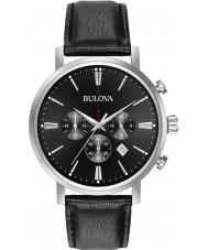 Bulova 96B262 Herren Aerojet silber schwarz Chronograph