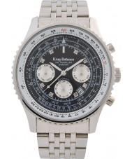 Krug-Baumen 600303DSA Herren Air Traveller Diamant Automatikuhr