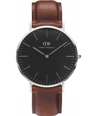 Daniel Wellington DW00100130 Klassisches Schwarz st mawes 40mm Uhr