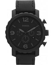 Fossil JR1354 Herren nate Chronograph schwarz Uhr