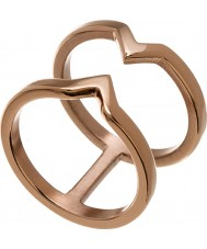 Edblad 116130176-S Damen Sieg Roségold vergoldet Ring - Größe n (n)