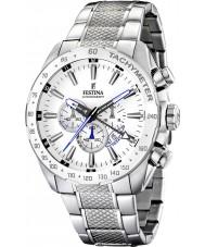 Festina F16488-1 Herren-Chronograph Dual Time Watch