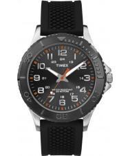 Timex TW2P87200 Mens taft Straße schwarz Silikonband Uhr