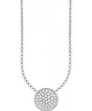 Thomas Sabo KE1491-051-14-L45v Damen Silber funkelnde Kreise Halskette