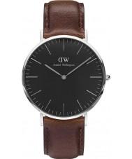 Daniel Wellington DW00100131 Klassische schwarze bristol 40mm Uhr
