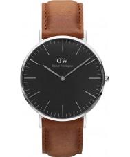 Daniel Wellington DW00100132 Klassische schwarze durham 40mm Uhr
