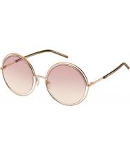 Marc Jacobs Damen marc 11-s txa 05 Gold braun Sonnenbrille