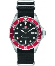 Swiss Military 6-4279-04-007-04 Mens Seelöwe schwarze Nylonband Uhr