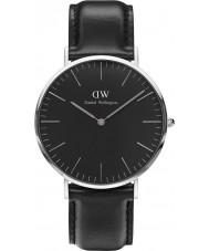 Daniel Wellington DW00100133 Klassische schwarze sheffield 40mm Uhr