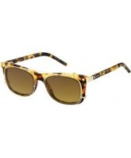Marc Jacobs Marc 17-s U63 vo havanna Gold Sonnenbrille