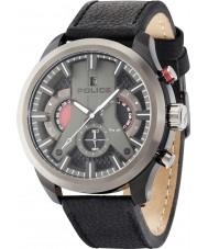 Police 14639JSBU-02 Mens Zyklon schwarzes Lederband Uhr