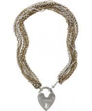 Fossil JA4726998 Damen pvd vergoldete Halskette