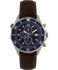 Rotary AGS00070-C-05 Herren Aquaspeed blau braun Chronograph