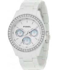 Fossil ES1967 Damen stella alle weiße Uhr