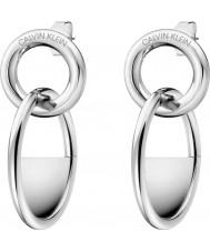 Calvin Klein KJ8GME000100 Damen verschlossene Ohrringe
