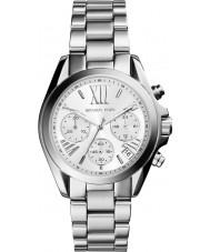 Michael Kors MK6174 Damen Mini Bradshaw Silber Chronograph