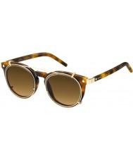 Marc Jacobs Marc 18-s u6j zx havanna Gold Sonnenbrille