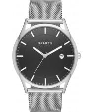 Skagen SKW6284 Herren holst Silber Stahlnetz-Armbanduhr