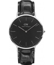 Daniel Wellington DW00100135 Klassische schwarze Lese 40mm Uhr