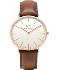 Daniel Wellington DW00100006 Mens klassische 40mm st mawes Roségold Uhr