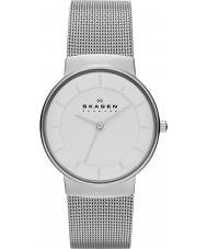 Skagen SKW2075 Damen klassik Silber Stahl Armbanduhr