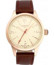 Minster 1949 MN01CRRG10 Mens Crofton braunes Lederarmband Uhr