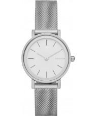 Skagen SKW2441 Damen hald Silber Stahlgitter Armbanduhr