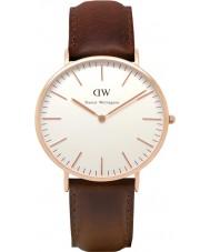 Daniel Wellington DW00100009 Mens klassische 40mm bristol Roségold Uhr