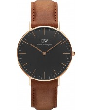 Daniel Wellington DW00100138 Klassische schwarze durham 36mm Uhr