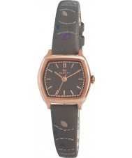 Radley RY2164 Damen Schiefer Blatt genäht Lederband Uhr