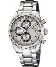 Festina F16759-2 Herren Silber Stahlarmband Chronograph