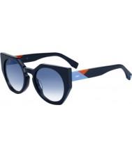 Fendi Damenfacetten ff 0151-s pjp u3 Sonnenbrille