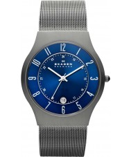 Skagen 233XLTTN Herren-klassik Titan Silber Mesh-Uhr