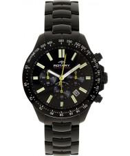 Rotary AGB00085-C-04 Herren Aquaspeed schwarz Chronograph