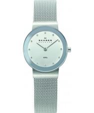 Skagen 358SSSD Damen klassik Chrom Silber Mesh-Uhr