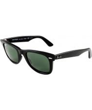 RayBan RB2140 54 Original Wayfarer schwarz grün 901-58 polarisierten Sonnenbrillen