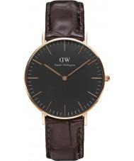 Daniel Wellington DW00100140 Klassisches Schwarz york 36mm Uhr