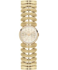 Orla Kiely OK4022 Damen Lorbeer hamilton vergoldete Uhr