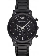 Emporio Armani AR1895 Mens klassische Chronograph schwarz ip Uhr